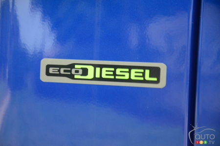 Logo of the 2020 Jeep Wrangler Diesel