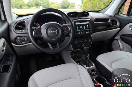 2020 Jeep Renegade, interior