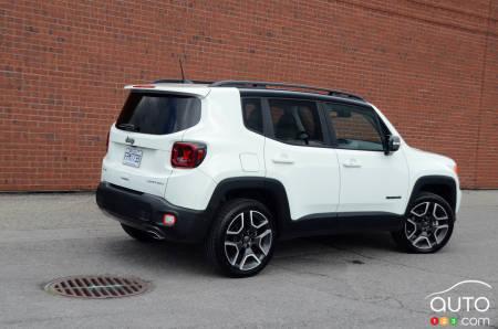 2020 Jeep Renegade, three-quarters rear