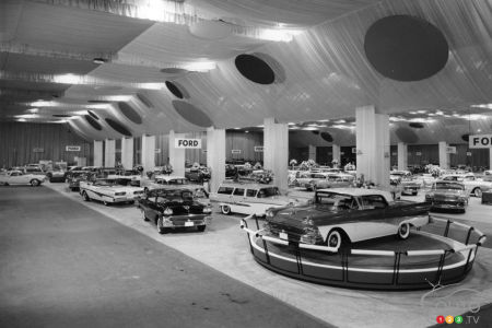 The Los Angeles Auto Show, in another era
