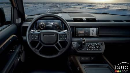 2021 Land Rover Defender 90, interior