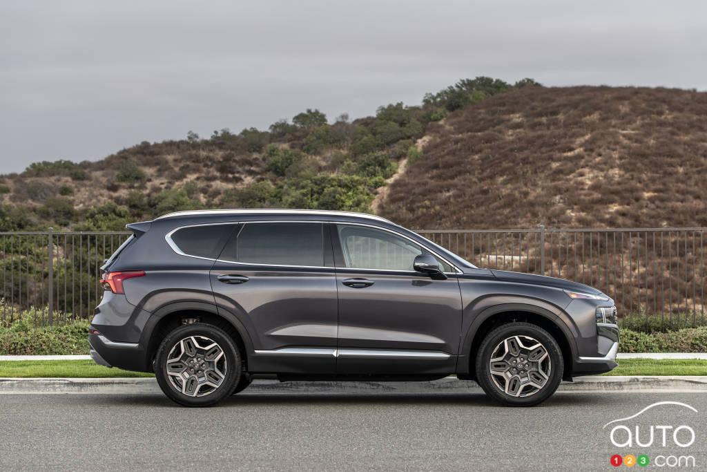 Hyundai Santa Fe 2021, profil