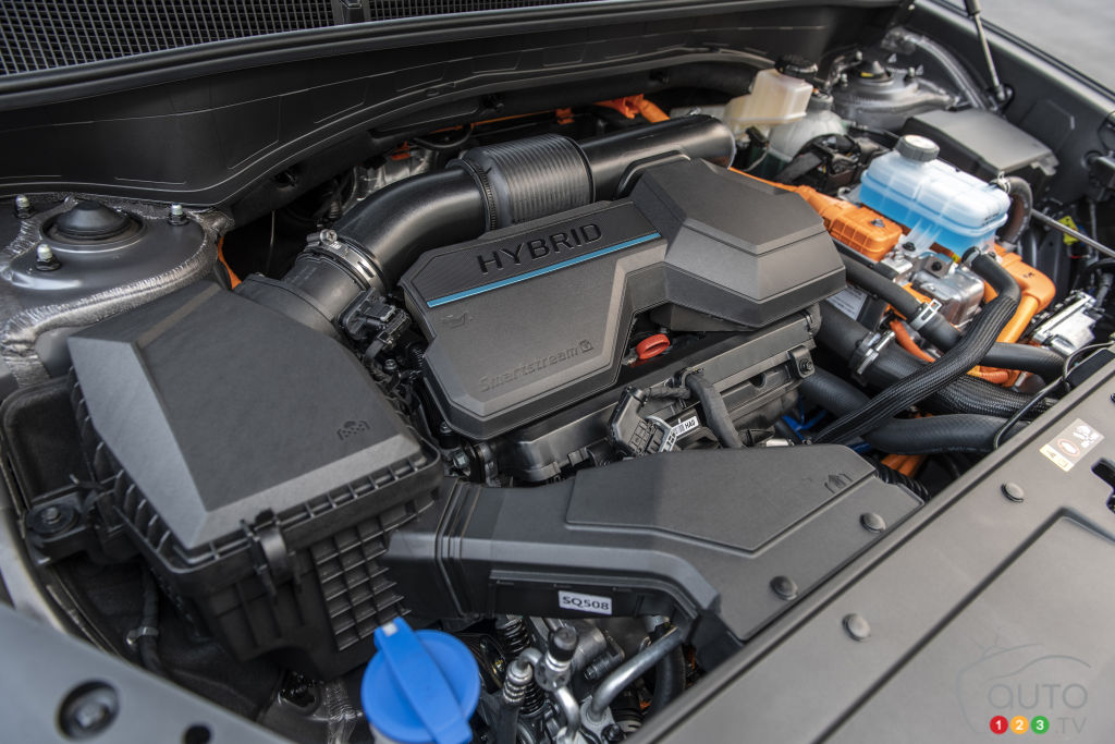 Hyundai Santa Fe 2021, moteur hybride