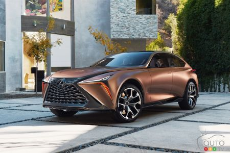Nissan Infiniti And Lexus Unveil Concepts In Detroit Industry
