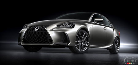 The 2017 Lexus IS 200t