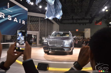 At the New York Auto Show in 2019