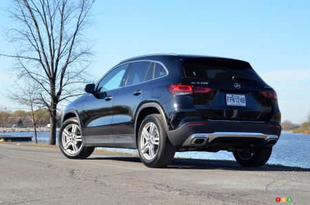 2021 Mercedes-Benz GLA 250 4MATIC, trhee-quarters rear