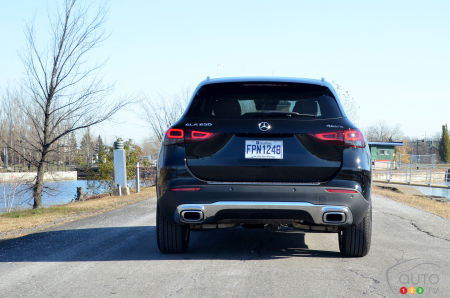 2021 Mercedes-Benz GLA 250 4MATIC, rear