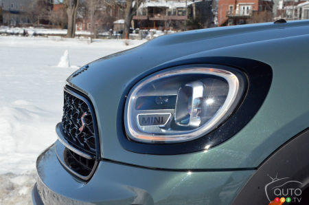 2021 Mini Cooper S Countryman ALL4, headlight, front grille
