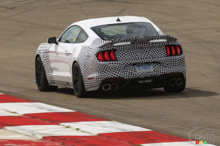 2021 Ford Mustang Mach 1, rear