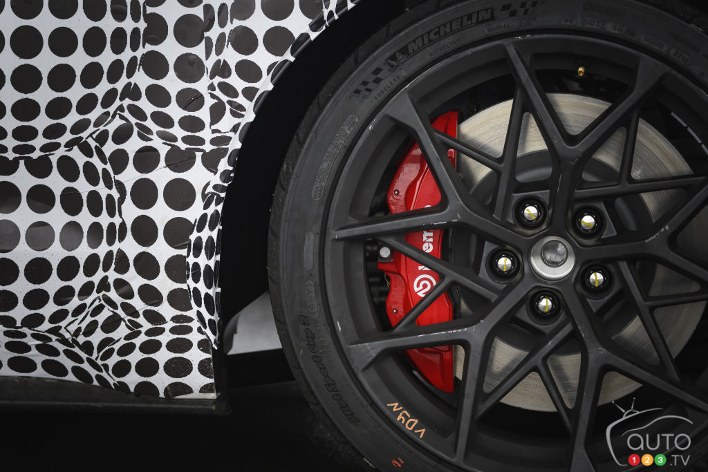 Ford Mustang Mach 1 2021, frein Brembo
