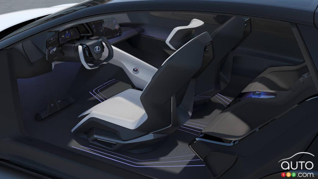 Le prototype LF-Z Electrified, intérieur