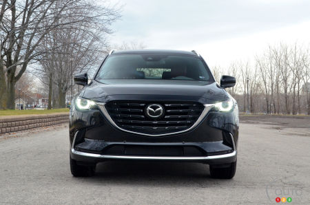 2021 Mazda CX-9 Kuro, front