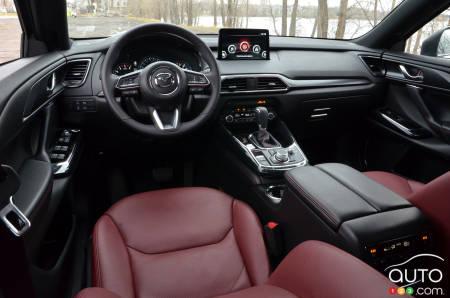 2021 Mazda CX-9 Kuro, interior