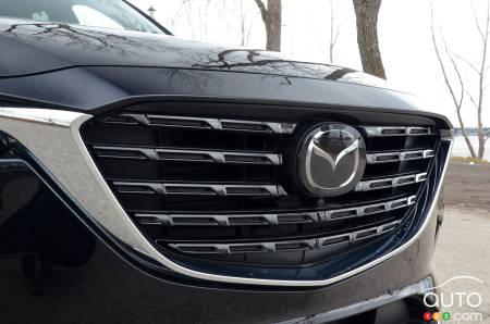 2021 Mazda CX-9 Kuro, grille