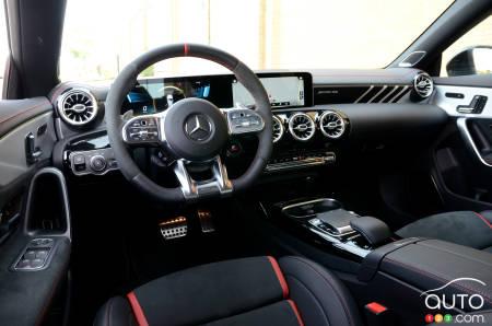 2020 Mercedes-AMG CLA 45 4MATIC+, interior