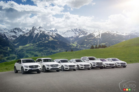 The current Mercedes-Benz plug-in hybrid line