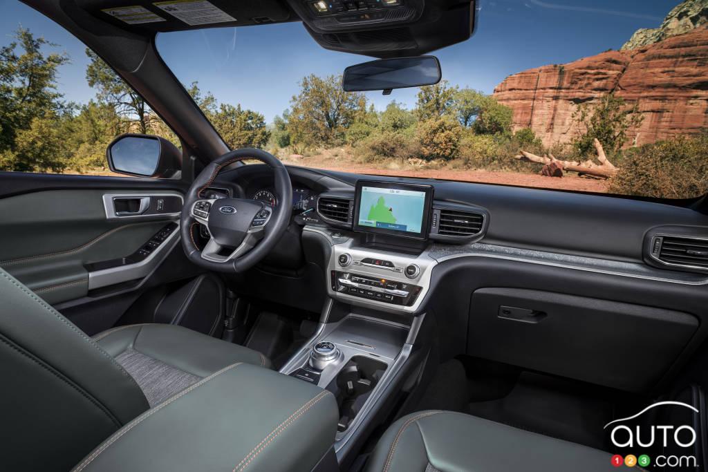 Ford Explorer Timberline 2021, intérieur