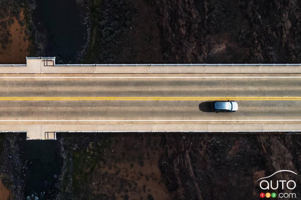 Volkswagen Taos, de (très) haut