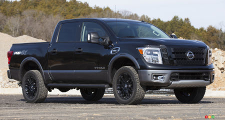 Super Black Nissan TITAN Pro-4X Project Truck