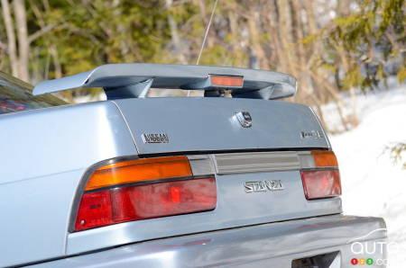 1992 Nissan Stanza, rear