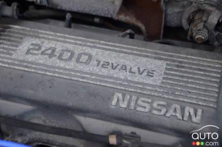 1992 Nissan Stanza, engine
