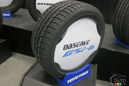 The new Toyo Observe GSi-6 winter tire for passenger vehicles.