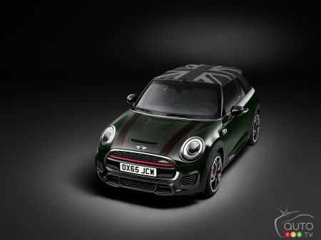 La MINI John Cooper Works décapotable