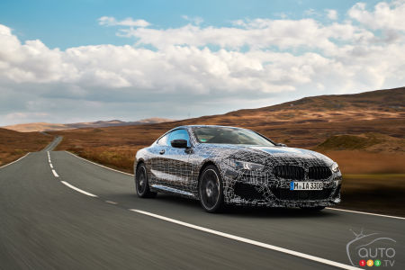 2019 BMW M850i 8 Series coupe