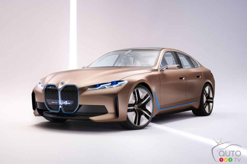Prototype BMW i4