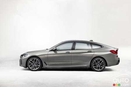 2021 BMW 6 Series GT, profile