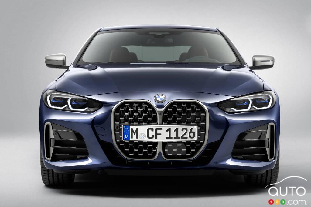 BMW Série 4 coupé 2021, avant