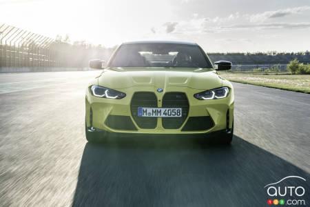 2021 BMW M4, front