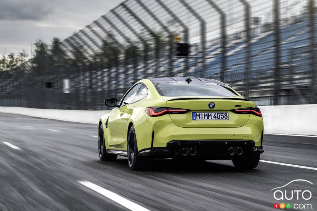BMW M4 2021, arrière