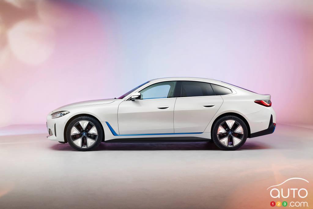BMW i4, profil
