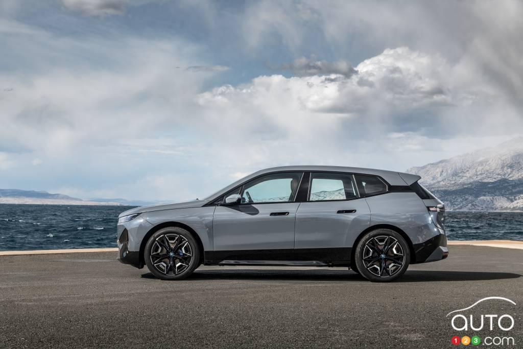 BMW iX, profil