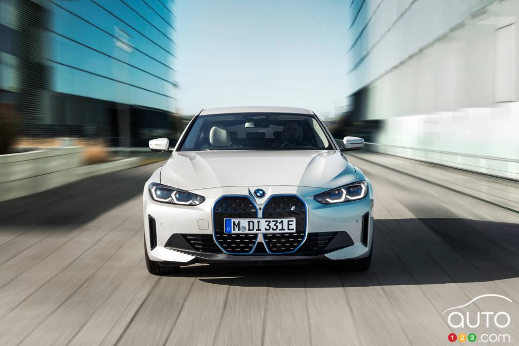 BMW i4, avant