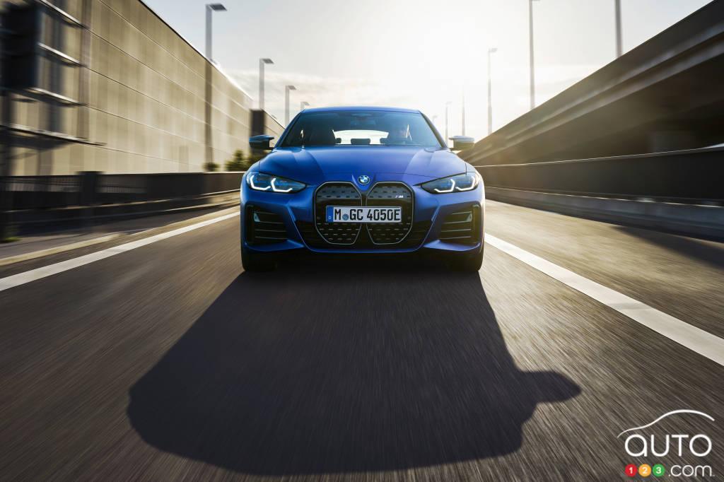 BMW i4 M50 2022, avant