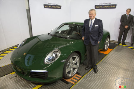 Dr Wolfgang Porsche, Chairman of the Supervisory Board at Porsche AG, has been a part of the development of the 911 since day one