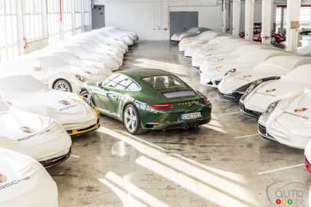 The one-millionth Porsche 911