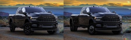 The Ram Heavy Duty Limited Black (2500 and 3500)