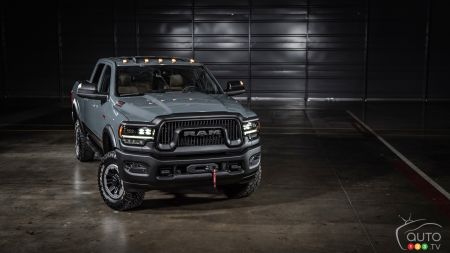 2021 Ram 2500 Power Wagon 75th Anniversary Edition, front