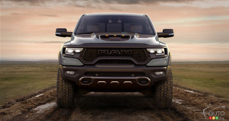 2021 Ram 1500 TRX Launch Edition, front