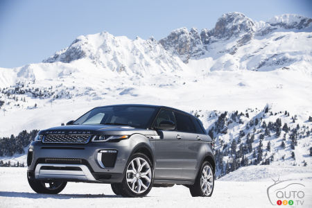 The highly successful Range Rover Evoque
