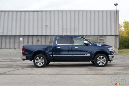 2020 Ram 1500 Limited, profile
