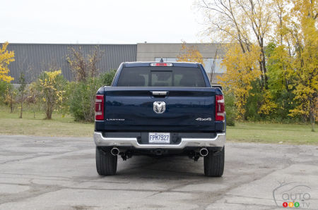 2020 Ram 1500 Limited, rear