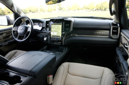 2020 Ram 1500 Limited, interior