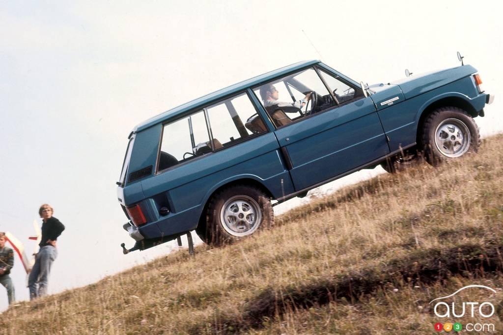 Land Rover Range Rover 1970