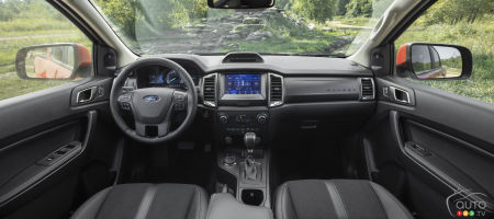 2021 Ford Ranger Lariat Tremor, interior