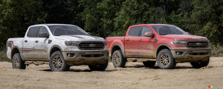 2021 Ford Ranger XLT Tremor and 2021 Ford Ranger Lariat Tremor